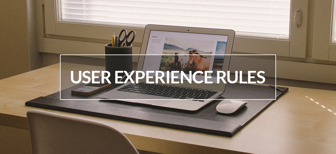 user experience rules