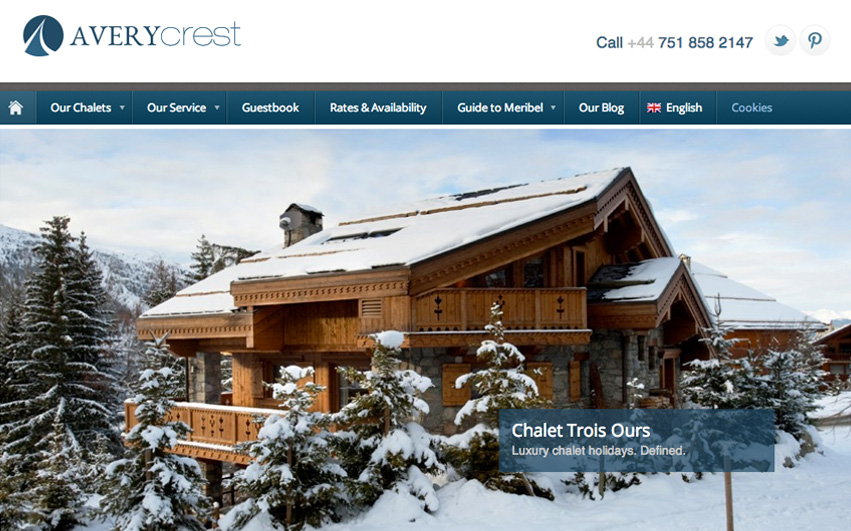 Avery Crest Homepage