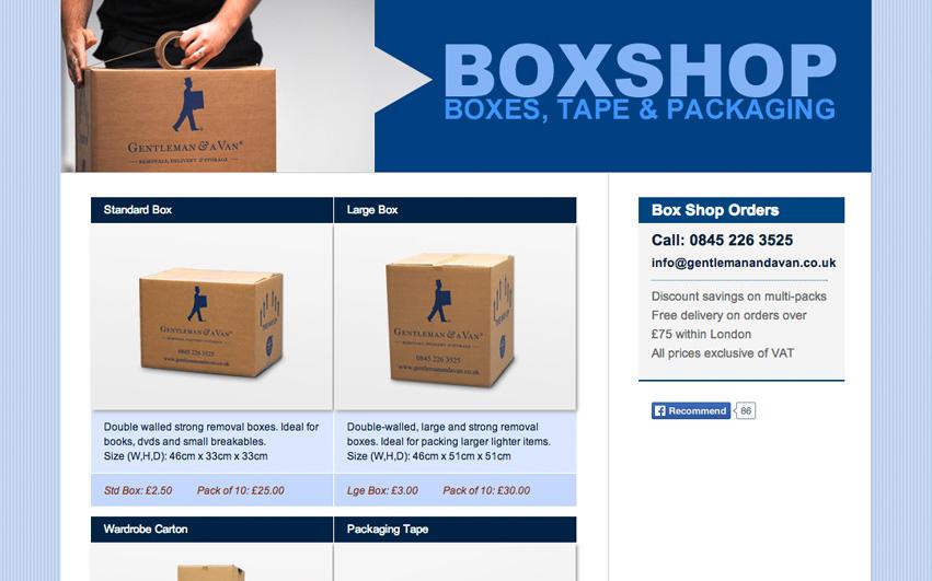 Gentleman & A Van Boxshop