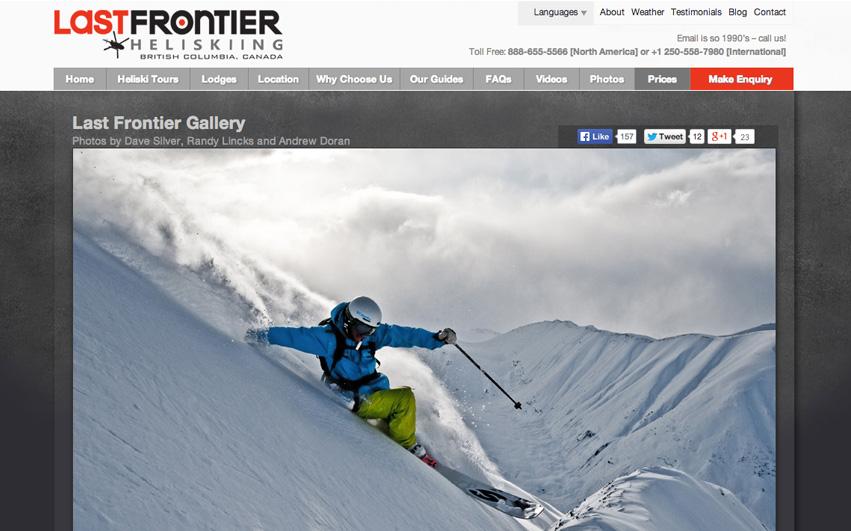 Last Frontier Heliskiing Gallery