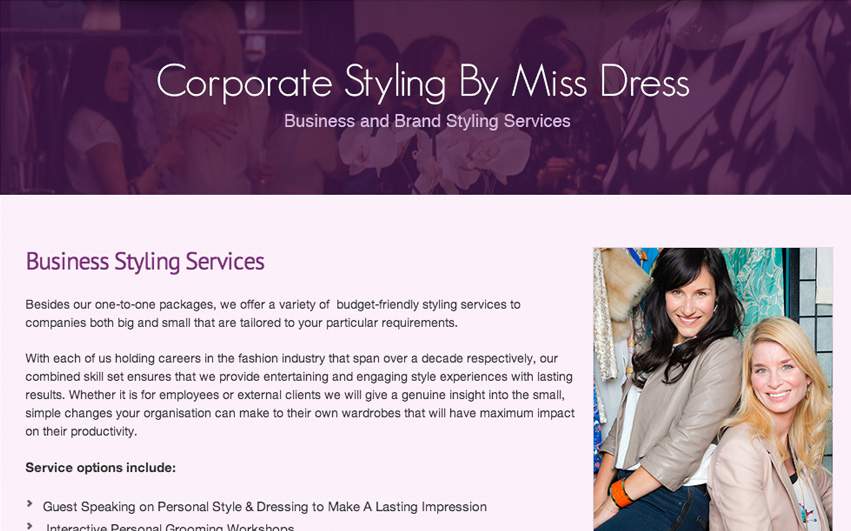 Miss Dress Business Styling Services