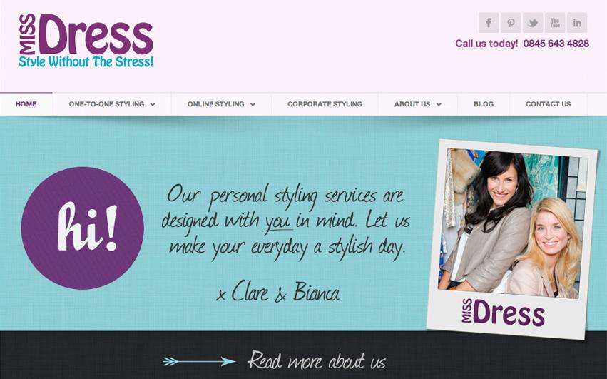 Miss Dress Homepage