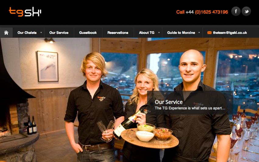 TG Ski Homepage