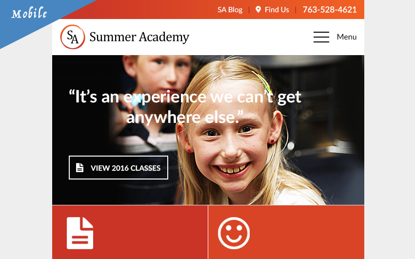 Summer Academy For Mobile