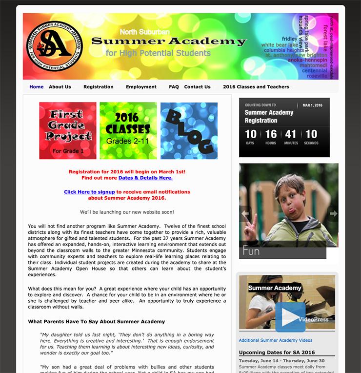 SA Old Homepage