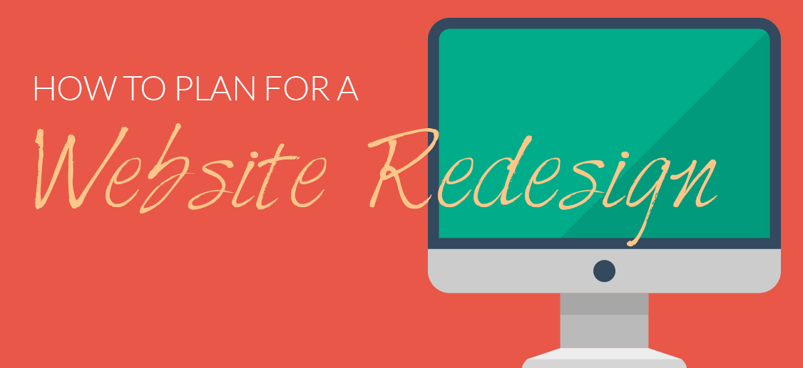 plan for a website redesign