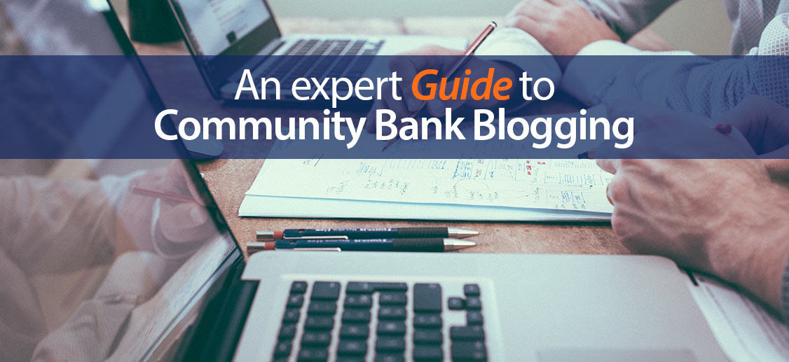 community bank blogging