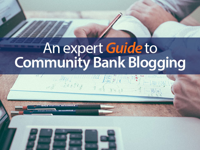 community bank blogging guide